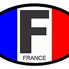 FRANCE OVAL by Thomas Barker-Detwiler
