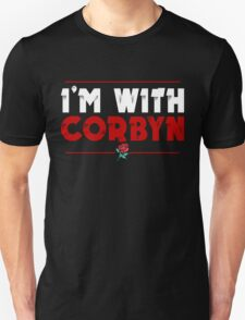 I'm With Corbyn Unisex T-Shirt