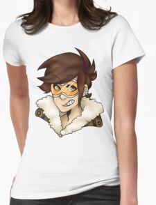 Overwatch- Tracer Womens Fitted T-Shirt