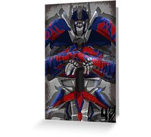 Transformers Age of Extinction Greeting Card