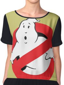 Ghostbusters Chiffon Top