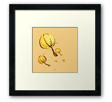 Lampions Framed Print