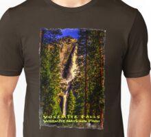 Yosemite Falls Framed by Ponderosa Pines Unisex T-Shirt