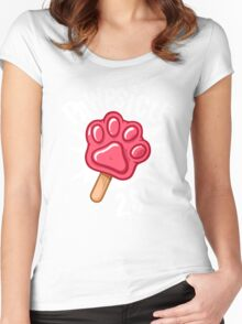 Pawpsicle Women's Fitted Scoop T-Shirt