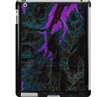 USGS TOPO Map Alaska AK Anchorage A-5 353945 1960 63360 Inverted iPad Case/Skin