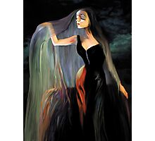 Lovely Morticia Photographic Print