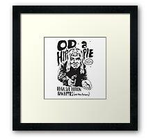 Legalize Heroin Framed Print