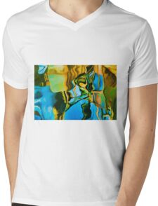 Color Abstraction LXXIII Mens V-Neck T-Shirt