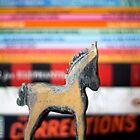 Blue horse by Lynn Starner
