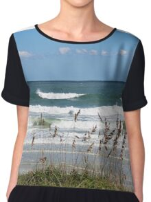 Breaking Waves Chiffon Top