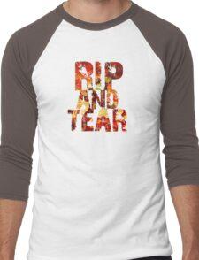Doom - Rip And Tear Men's Baseball ¾ T-Shirt