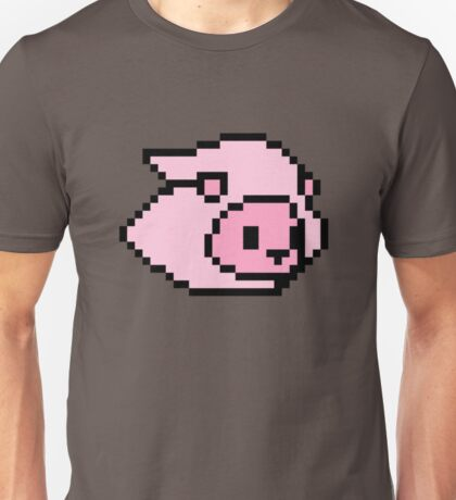 pixelated lion Unisex T-Shirt