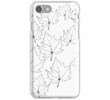 Leaf Pattern iPhone Case/Skin