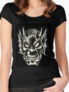 Etrigan The Demon Women's Fitted Scoop T-Shirt