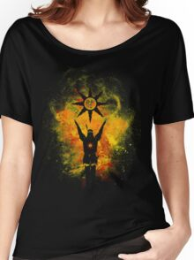 Praise The Sun - Fire Women's Relaxed Fit T-Shirt