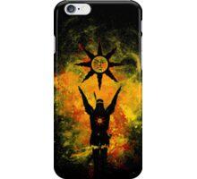 Praise The Sun - Fire iPhone Case/Skin