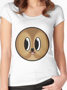 Shiba Sphere Women's Fitted Scoop T-Shirt
