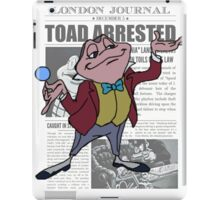 Toad Arrested iPad Case/Skin