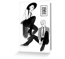GD&TOP - Zutter (by xxxgenchou) Greeting Card