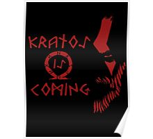 Kratos is Coming Poster