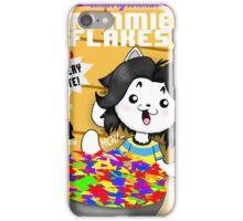 temmie flakes iPhone Case/Skin