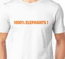 1000% Elephants! Unisex T-Shirt
