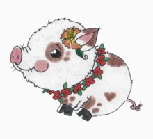 Luau Pig One Piece - Short Sleeve