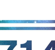 Rorer 714 - Quaaludes - Ludes Sticker