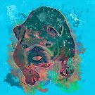 Bulldog Painting by Beverly Lussier