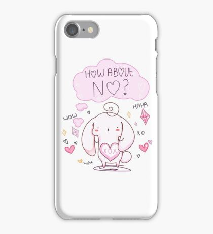 Passive Aggressive Bunny iPhone Case/Skin