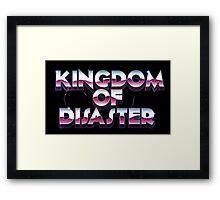 Arcade Storm Signature Framed Print