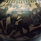 C7 BC Etruscan Semitone Pottery Vatican Museum Rome Italy 19840723 0029 by Fred Mitchell