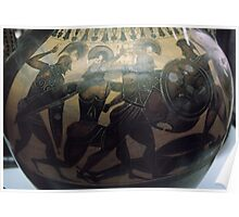 C7 BC Etruscan Semitone Pottery Vatican Museum Rome Italy 19840723 0029 Poster