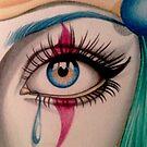 Clown Eye by AlanZinn