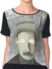 James Joyce Chiffon Top