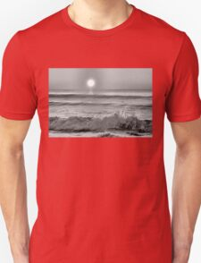 We Danced Like A Wave On The Ocean B&W Unisex T-Shirt