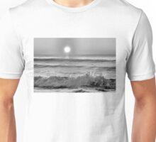 We Danced Like A Wave On The Ocean B&W Unisex T-Shirt