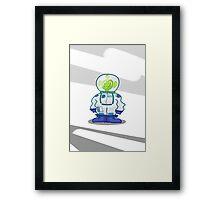 Space Man John Framed Print