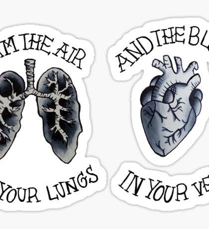 Memphis May Fire Lyrics Sticker