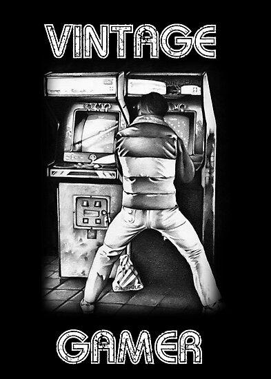Vintage Gamer by Daniel Tearle