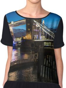 Tower Bridge London Chiffon Top