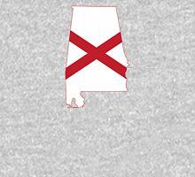 Flag Map of Alabama  Unisex T-Shirt