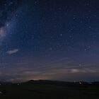 Starlight over the Valley - Panorama by Daniel Berends