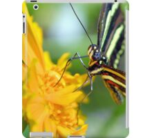 The Zebra Longwing iPad Case/Skin
