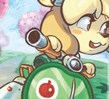 isabelle moped! Sticker