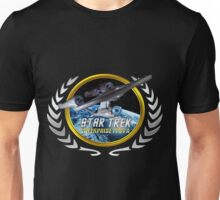 Star trek Federation of Planets Enterprise 1701 A Unisex T-Shirt