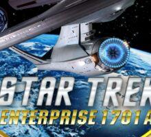 Star trek Federation of Planets Enterprise 1701 A Sticker