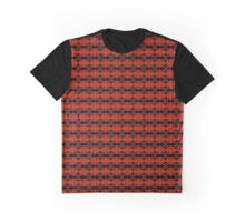 Red & Black Pattern Graphic T-Shirt