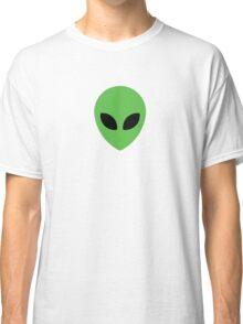 Alien Head 90's  Classic T-Shirt