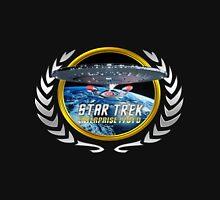 Star trek Federation of Planets Enterprise 1701 D  3 Unisex T-Shirt